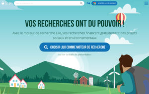 Lilo - moteur de recherche pour des projets sociaux et environnementaux