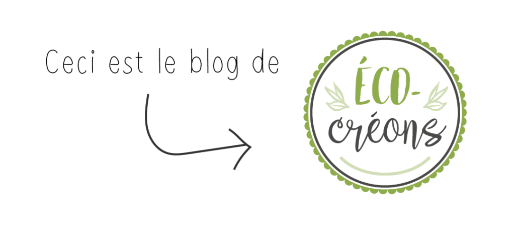 Ceci est le blog de Éco-créons