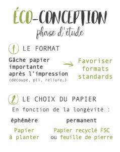 formats standards et choix du papier