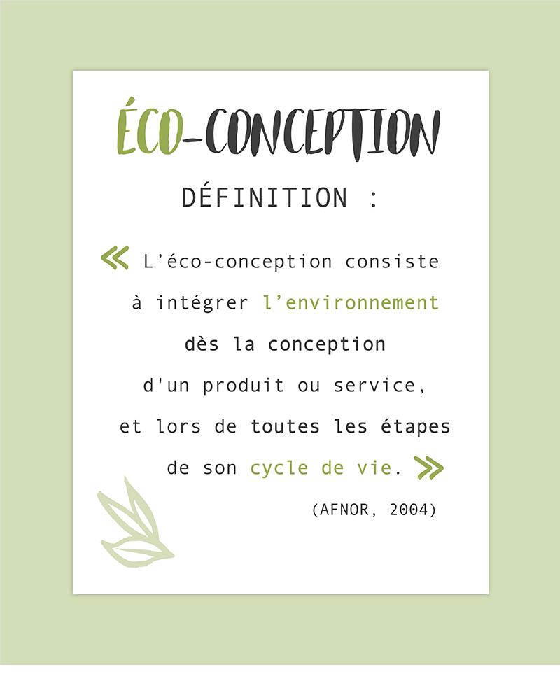 définition éco-conception