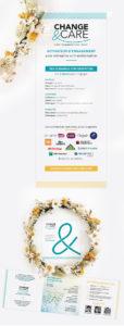 Projet Change & Care - Kakémono et plaquette